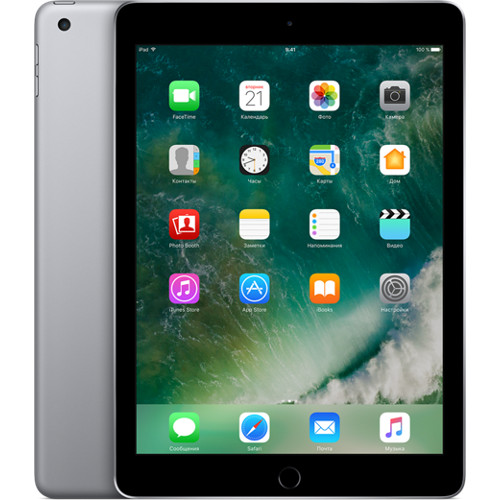 Apple iPad (2017) Wi-Fi 32 GB серый космос