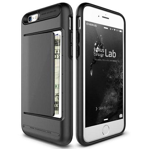 Чехол Verus Damda Clip для iPhone 6S/6 стальной (VRI6S-DCPDS)Чехлы для iPhone 6/6s<br>Чехол Verus Damda Clip для iPhone 6S/6 стальной (904286)<br><br>Цвет товара: Серый<br>Материал: Поликарбонат, полиуретан