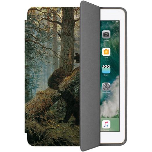 Чехол Muse Smart Case для iPad 9.7 (2017/2018) МишкиЧехлы для iPad 9.7<br>Чехлы Muse — это индивидуальность, насыщенность красок, ультрасовременные принты и надёжность.<br><br>Цвет: Коричневый<br>Материал: Поликарбонат, полиуретановая кожа