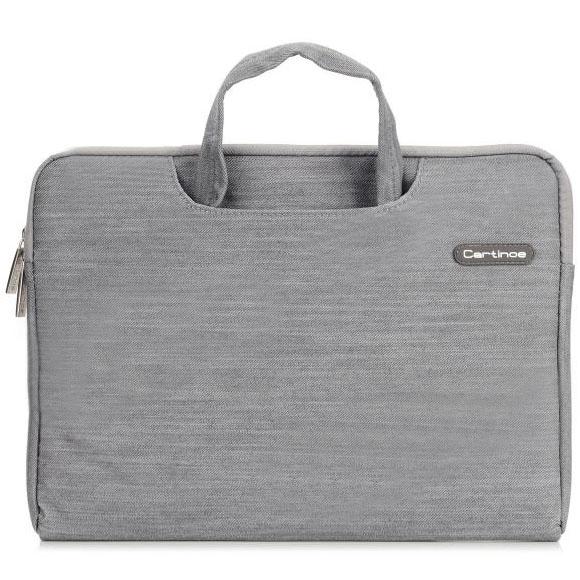 Сумка Cartinoe Denim Dream Series для MacBook 15 сераяСумки для ноутбуков<br>Cartinoe Denim Dream Series станет верным спутником делового и активного человека.<br><br>Цвет товара: Серый<br>Материал: Текстиль