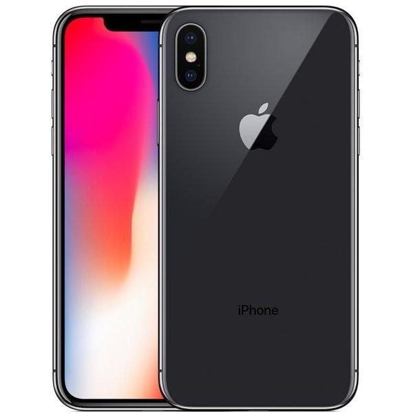 Apple iPhone X - 256 Гб серый космосApple iPhone X<br>iPhone X воплощает мечту в реальность. Это смартфон будущего.<br><br>Цвет товара: Серый космос<br>Материал: Металл, стекло<br>Цвета корпуса: серый<br>Модификация: 256 Гб
