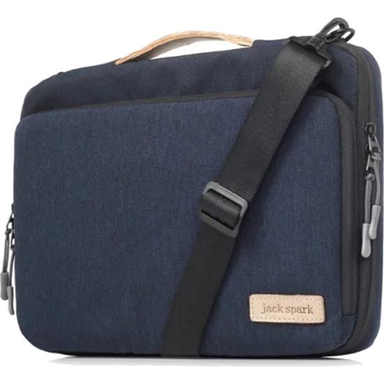 Сумка Jack Spark Tissue Bag для MacBook 13 синяяСумки для ноутбуков<br>В этой, с виду небольшой, сумке уместится действительно большое количество разнообразных вещей!<br><br>Цвет товара: Синий<br>Материал: Полиэстер