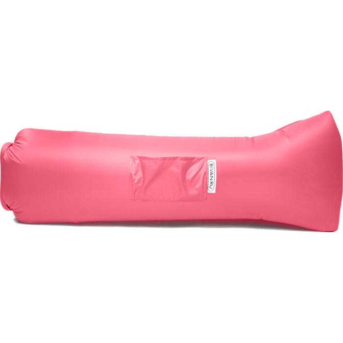 Надувной диван Биван 2.0 розовыйКемпинговая мебель<br>Биван 2.0 — новая версия легендарного надувного дивана!<br><br>Цвет товара: Розовый<br>Материал: Ткань с водоотталкивающей пропиткой, парашютный шёлк