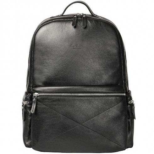 Рюкзак Ray Button San Marino для MacBook 13 чёрныйРюкзаки<br>Рюкзак Ray Button San Marino — вместительный рюкзак городской серии.<br><br>Цвет товара: Чёрный<br>Материал: Натуральная кожа, текстиль, металл