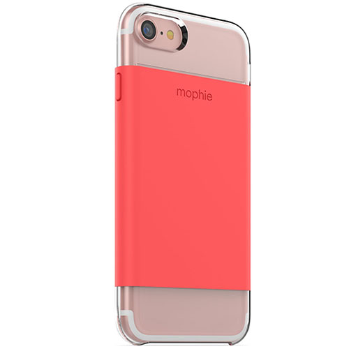 Чехол Mophie Base Case Wrap для iPhone 7 (Айфон 7) коралловыйЧехлы для iPhone 7<br>Чехол Mophie Base Case Wrap  для iPhone 7 - коралловый<br><br>Цвет товара: Красный