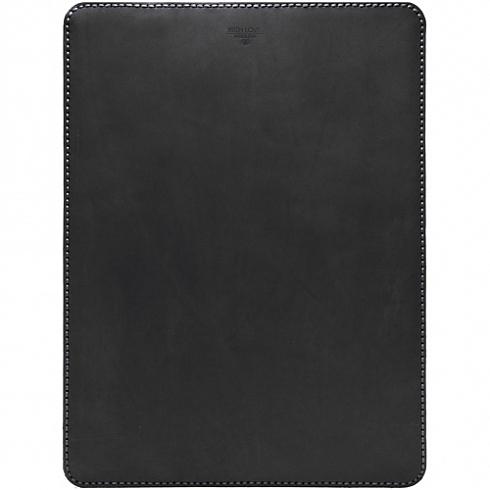"""Кожаный чехол With Love. Moscow Classic для MacBook 12"""" чёрный"""