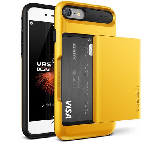 Чехол Verus Damda Glide для iPhone 7 (Айфон 7) жёлтый (VRIP7-DGLYW)Чехлы для iPhone 7<br>Чехол Verus для iPhone 7  Damda Glide, желтый (904612)<br><br>Цвет товара: Жёлтый<br>Материал: Поликарбонат
