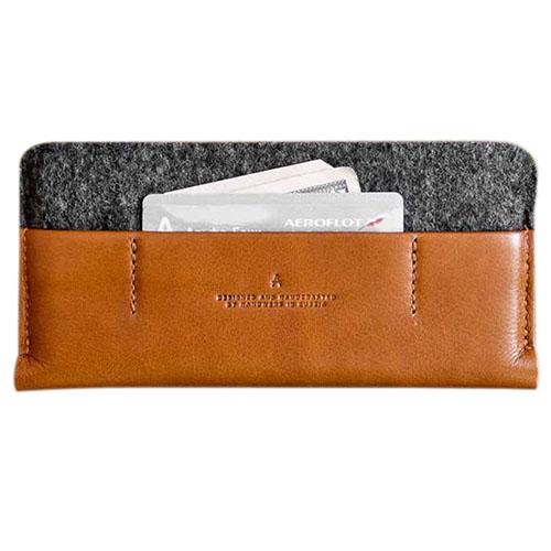 Чехол Handwers Portside для iPhone 6/6s/7 тёмно-коричневый