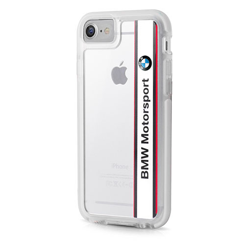 Чехол BMW Motorsport Shockproof Hard PC для iPhone 7 (Айфон 7) белый