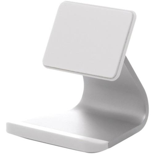 Подставка-держатель Bluelounge Milo для iPhone белаяДокстанции/подставки<br><br><br>Цвет товара: Белый<br>Материал: Алюминий