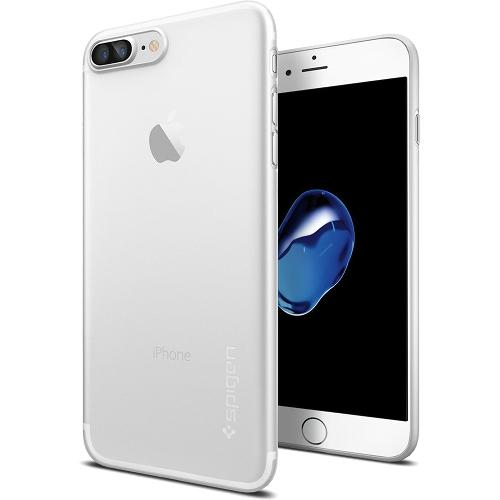 Чехол Spigen AirSkin для iPhone 7 Plus (Айфон 7 Плюс) прозрачный матовый (SGP-043CS20499)Чехлы для iPhone 7 Plus<br>Spigen AirSkin — один из самых тонких, надёжных и привлекательных чехлов!<br><br>Цвет товара: Прозрачный<br>Материал: Поликарбонат
