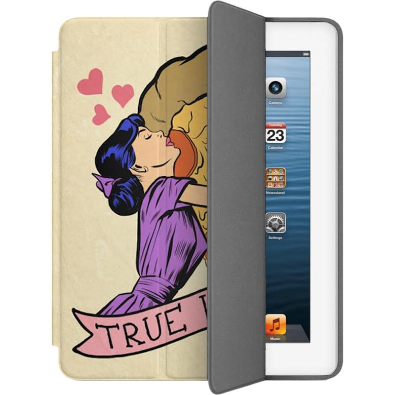 Чехол Muse Smart Case для iPad 2/3/4 Настоящая любовьЧехлы для iPad 1/2/3/4 (2010-2013)<br>Чехлы Muse — это индивидуальность, насыщенность красок, ультрасовременные принты и надёжность.<br><br>Цвет товара: Бежевый<br>Материал: Эко-кожа, поликарбонат