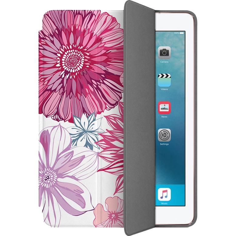 Чехол Muse Smart Case для iPad Pro (10.5) ЦветыЧехлы для iPad Pro 10.5<br>Чехлы Muse Smart Case — это индивидуальность, насыщенность красок, оригинальные принты и надёжная защита от повреждений.<br><br>Цвет товара: Розовый<br>Материал: Поликарбонат, полиуретановая кожа