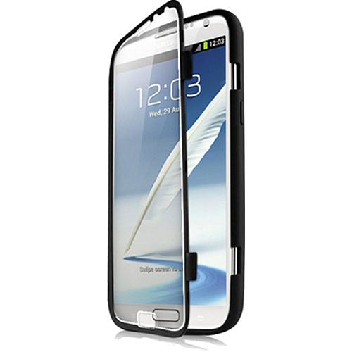 Чехол iTSkins DNA для Samsung Galaxy Note II ЧерныйЧехлы для Samsung Galaxy Note<br>Чехол IT Skins для Samsung Galaxy Note 2 Черный<br><br>Цвет товара: Чёрный<br>Материал: Силикон, пластик