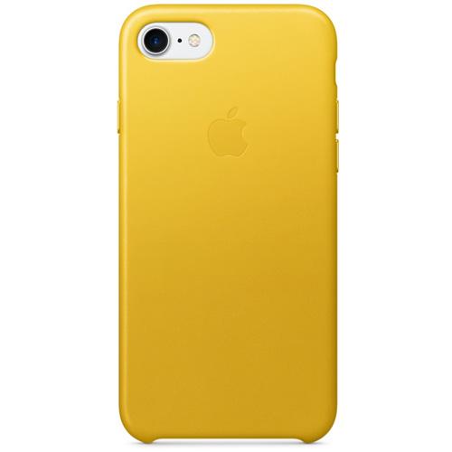 Кожаный чехол Apple Leather Case для iPhone 7 (Sunflower) ярко-жёлтыйЧехлы для iPhone 7<br>Стильный и практичный чехол Apple Leather Case — идеальная пара вашему iPhone 7.<br><br>Цвет товара: Жёлтый<br>Материал: Натуральная кожа