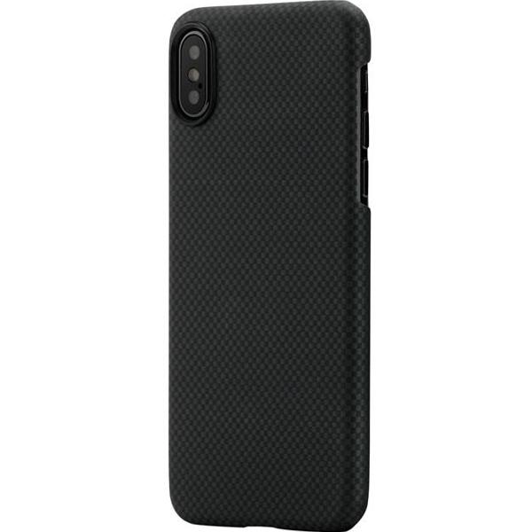 Чехол PITAKA MagCase для iPhone X чёрный карбон (плитка)Чехлы для iPhone X<br>PITAKA MagCase для iPhone X - тонкий, элегантный прочный. В комплекте идет стекло на экран.<br><br>Цвет товара: Чёрный<br>Материал: Арамид<br>Модификация: iPhone 5.8