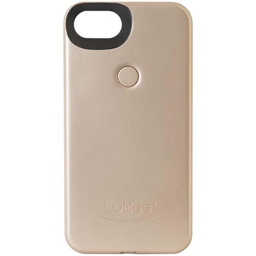Чехол LuMee Two с подсветкой для iPhone 7 золотойЧехлы для iPhone 7<br>Чехол LuMee TWO для iPhone 7 с подсветкой золотой мат.<br><br>Цвет товара: Золотой
