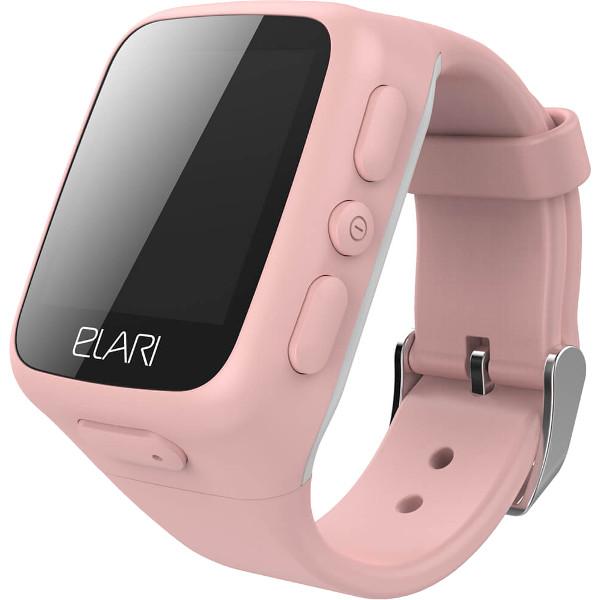 Детские часы-телефон Elari KidPhone c GPS/LBS-трекером розовыеУмные часы<br>Elari KidPhone - детские многофункциональные часы-телефон.<br><br>Цвет товара: Розовый<br>Материал: Пластик