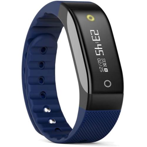 Фитнес-браслет SMA Coach синийБраслеты, кардиодатчики<br>SMA Coach – это фитнес-трекер со встроенным датчиком сердечного ритма и функциями смарт-часов.<br><br>Цвет товара: Синий<br>Материал: Пластик, силикон