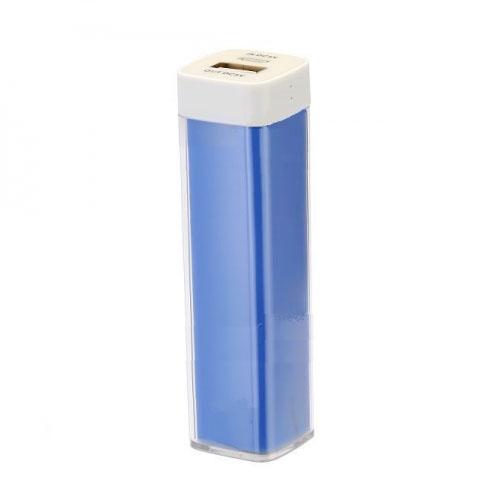 Дополнительный (внешний) аккумулятор Maxtop NewGrade 2600 мАч синийВнешние аккумуляторы<br>Дополнительный (внешний) аккумулятор Maxtop NewGrade 2600 мАч - это переносной компактный аккумулятор для смартфонов и любых других мобильных устро...<br><br>Цвет товара: Синий<br>Материал: Пластик