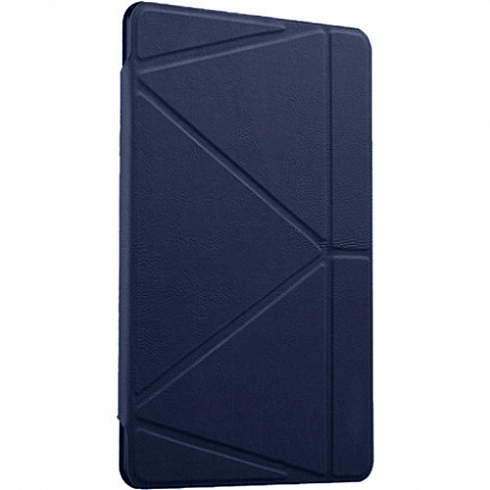 Чехол Gurdini Flip Cover для iPad mini 4 синийЧехлы для iPad mini 4<br>Чехол Gurdini для iPad mini 4 синий<br><br>Цвет товара: Синий<br>Материал: Искусственная кожа, пластик