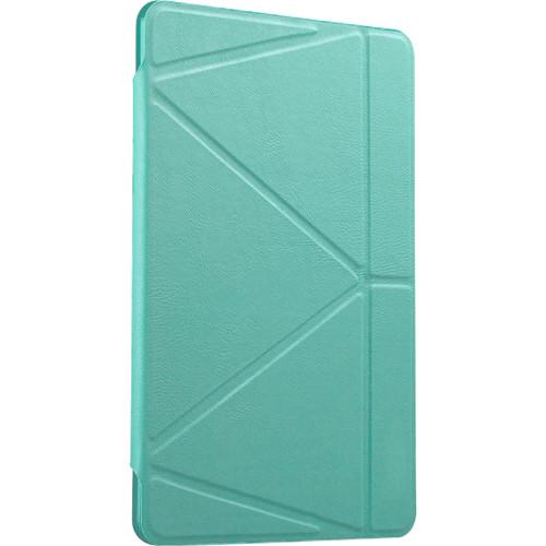 Чехол Gurdini Flip Cover для iPad Pro ментоловыйЧехлы для iPad Pro 12.9<br>Чехол книжка iPad Pro 12.9 Gurdini Lights Series мятный<br><br>Цвет товара: Мятный<br>Материал: Пластик, полиуретановая кожа