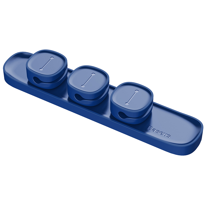 Организатор проводов Baseus Peas Cable Clip синийОрганайзеры проводов и гаджетов<br>Baseus Peas Cable Clip - это компактный организатор проводов, который поможет Вам справиться с мотками кабелей на столе.<br><br>Цвет товара: Синий<br>Материал: ABS-пластик