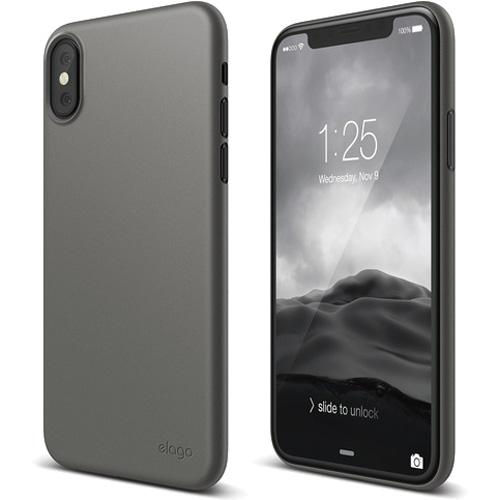 Чехол Elago Inner Core для iPhone X серыйЧехлы для iPhone X<br>Ультратонкий и легкий, всего 0.5 мм, чехол Inner Core для настоящих ценителей минимализма!<br><br>Цвет: Серый<br>Материал: Пластик