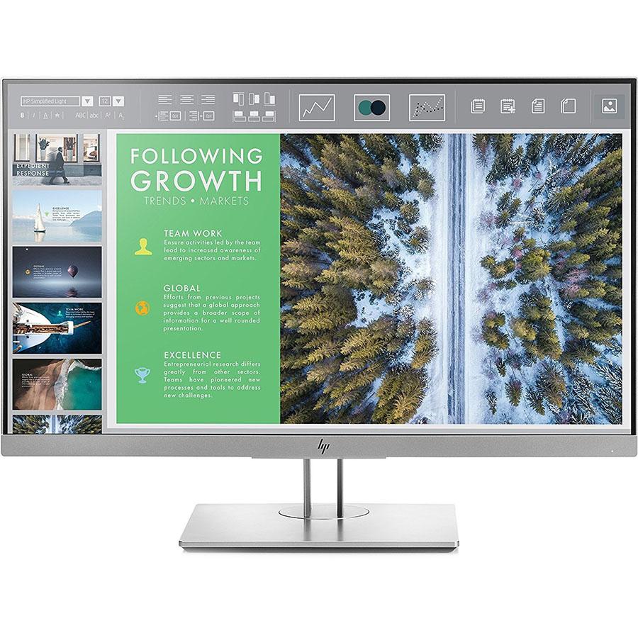 Монитор HP EliteDisplay E243 (1FH47AA)Комплектующие для ПК<br>Изображение на HP EliteDisplay E243 поразит вас с первых секунд!<br><br>Цвет: Серебристый<br>Материал: Пластик, металл