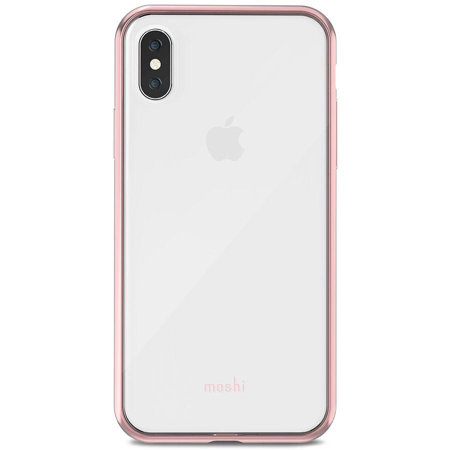 Чехол Moshi Vitros для iPhone X розовый (Orchid Pink)Чехлы для iPhone X<br>Moshi Vitros выполнен в минималистском стиле и ничуть не скрывает дизайн iPhone.<br><br>Цвет товара: Розовый<br>Материал: Поликарбонат, полиуретан