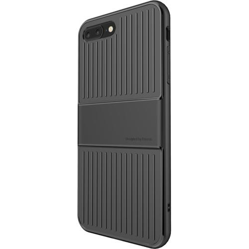 Чехол Baseus Travel Case для iPhone 7 Plus чёрныйЧехлы для iPhone 7 Plus<br>Чехол Baseus Travel Case для iPhone 7 Plus - черный<br><br>Цвет товара: Чёрный<br>Материал: Поликарбонат, термопластичный полиуретан