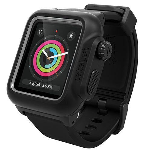 Чехол Catalyst Waterproof для Apple Watch Series 2 42 мм чёрныйЧехлы Apple Watch<br>Catalyst Waterproof для Apple Watch вобрал в себя лучшие современные материалы!<br><br>Цвет товара: Чёрный<br>Материал: Пластик, силикон