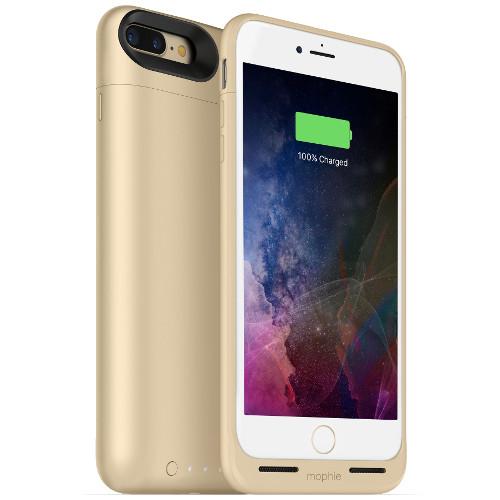 Чехол-аккумулятор Mophie Juice Pack Air на 2420 мАч для iPhone 7 Plus золотойЧехлы для iPhone 7/7 Plus<br>Mophie Juice Pack Air — это идеальный чехол - тонкий и легкий, он обеспечит ваш новенький iPhone 7 Plus 100% защитой и энергией.<br><br>Цвет товара: Золотой<br>Материал: Поликарбонат, резина