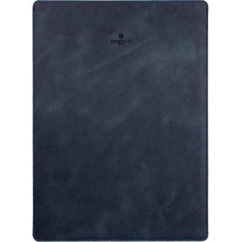 Кожаный чехол Stoneguard для MacBook Air 11 синий OceanЧехлы для MacBook Air 11<br>Кожаный чехол Stoneguard Moscow для MacBook Air 11 model: 511 - Ocean<br><br>Цвет товара: Синий<br>Материал: Натуральная кожа, фетр