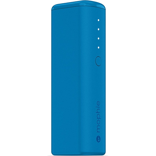 Внешний аккумулятор Mophie Power Boost mini 2600 мАч синийВнешние аккумуляторы<br>Mophie Power Boost mini является одним из самых компактных и при этом ёмких внешних батарей от Mophie.<br><br>Цвет товара: Синий<br>Материал: Металл, пластик, силикон