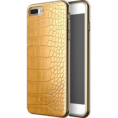 Чехол LAB.C Crocodile Case для iPhone 7 Plus жёлтыйЧехлы для iPhone 7/7 Plus<br>С чехлом LAB.C Crocodile Case вы будете спокойны за сохранность своего Айфона и при этом сможете поразить окружающих премиум аксессуаром.<br><br>Цвет товара: Жёлтый<br>Материал: Поликарбонат, полиуретан