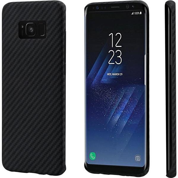 Чехол PITAKA MagCase для Samsung Galaxy S8 чёрный карбонЧехлы для Samsung Galaxy S8/S8 Plus<br>PITAKA MagCase обеспечит вашему смартфону бескомпромиссную защиту!<br><br>Цвет: Чёрный<br>Материал: Арамид