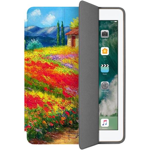 Чехол Muse Smart Case для iPad 9.7 (2017/2018) Очаровательный ПровансЧехлы для iPad 9.7<br>Чехлы Muse — это индивидуальность, насыщенность красок, ультрасовременные принты и надёжность.<br><br>Цвет: Разноцветный<br>Материал: Поликарбонат, полиуретановая кожа