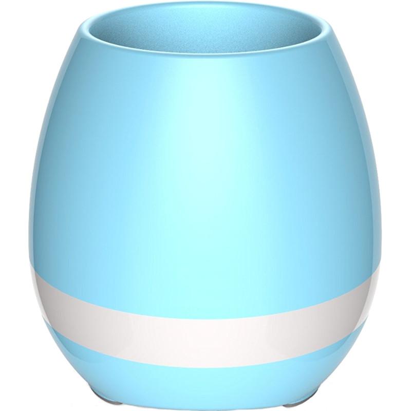 Умный музыкальный горшок Smart Music Flower pots голубойУмные сады и фермы<br><br><br>Цвет товара: Голубой<br>Материал: Керамопластик, металл, силикон