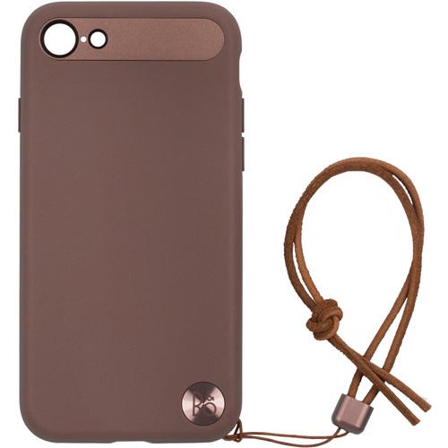 Чехол Bang & Olufsen Play Case with Lanyard для iPhone 7/8 тёмно-красный