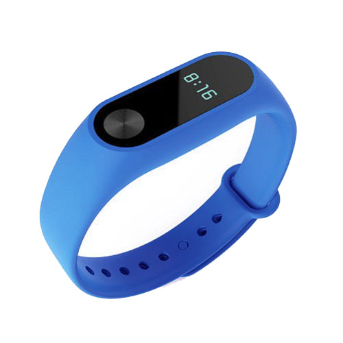 Браслет Xiaomi Mi Band 2 синийУмные браслеты<br>В Xiaomi Mi Band 2 используются самые современные и надежные технологии!<br><br>Цвет товара: Синий<br>Материал: Пластик, силикон