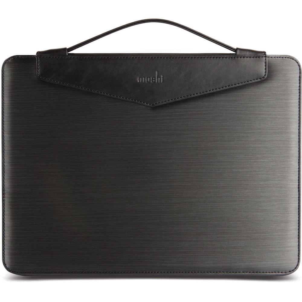 Сумка Moshi Codex 15 для MacBook Pro 15 Retina чёрнаяСумки для ноутбуков<br>Moshi Codex 15 моментально привлекает внимание своим строгим дизайном.<br><br>Цвет товара: Чёрный<br>Материал: Нейлон, полипропилен