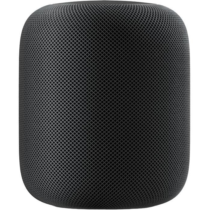 Умная колонка Apple HomePod чёрнаяКолонки и акустика<br>HomePod является самым настоящим умным гаджетом и существенно облегчит вашу повседневную жизнь.<br><br>Цвет товара: Чёрный<br>Материал: Пластик, текстиль