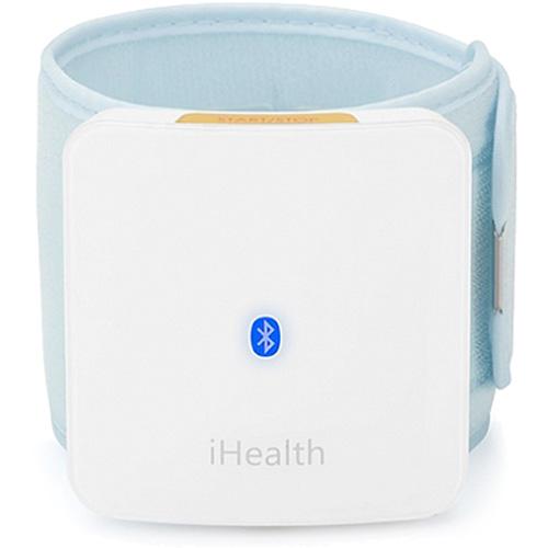 Тонометр на запястье iHealth BP7 для iPhone/iPad/iPod TouchТонометры, термометры<br>Тонометр на запястье iHealth BP7 позволяет максимально быстро и просто проверить ваше кровяное давление.<br><br>Цвет товара: Белый<br>Материал: Текстиль, резина, пластик