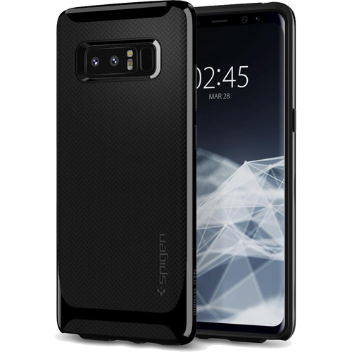 Чехол Spigen Neo Hybrid для Samsung Galaxy Note 8 чёрный (587CS22085)Чехлы для Samsung Galaxy Note<br>Испытайте непревзойденную защиту нового чехла Neo Hybrid от Spigen для Samsung Galaxy Note 8.<br><br>Цвет товара: Чёрный<br>Материал: Поликарбонат, полиуретан
