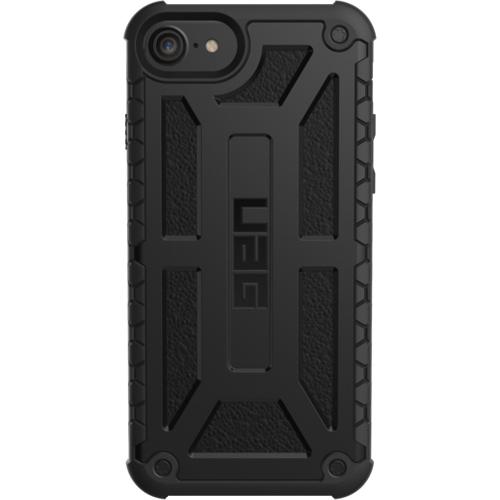 Чехол UAG Monarch Series Case для iPhone 6/6s/7 чёрныйЧехлы для iPhone 7<br>Ударопрочный чехол UAG Monarch для iPhone 6/6s/7 — надёжная защита для вашего гаджета.<br><br>Цвет товара: Чёрный<br>Материал: Поликарбонат, полиуретан