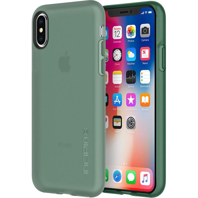 Чехол Incipio NGP для iPhone X ментоловыйЧехлы для iPhone X<br>Чехол изготовлен из гибкого, абсорбирующего материала Flex2O™ с шелковистой поверхностью.<br><br>Цвет товара: Мятный<br>Материал: Термопластичный полиуретан