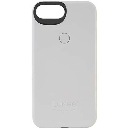 Чехол LuMee Two с подсветкой для iPhone 7 Plus белыйЧехлы для iPhone 7/7 Plus<br>Чехол LuMee TWO для iPhone 7 Plus с подсветкой белый глянцевый<br><br>Цвет товара: Белый