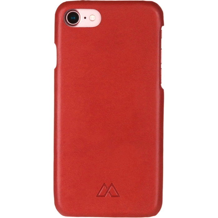 Чехол Moodz Soft Leather Hard для iPhone 7 (Айфон 7) Rossa красный