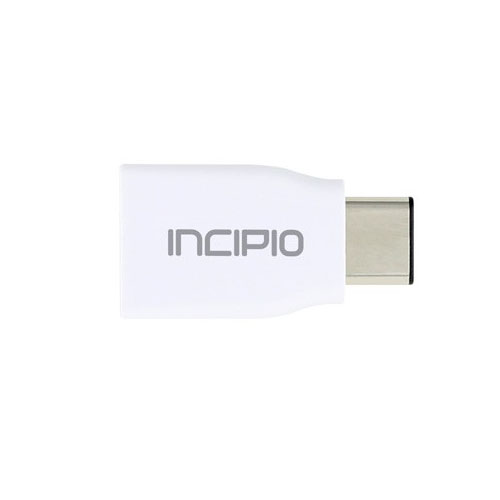 Адаптер Incipio USB-C to USB-A 3.1 Adapter белый